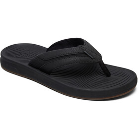 Quiksilver Travel Oasis Sandalias Hombre, black/black/brown
